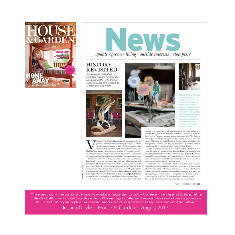 House & Garden Feature