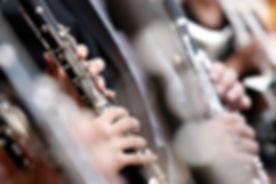 オーケストラでクラリネット