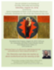 Flyer - Vespers and Presentation by Fr.