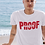 Thumbnail: Godly Example Proof Vintage* Tee (White/Faded Red)