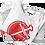 Thumbnail: Godly Example Logo Vintage* Tee (Red) Bold