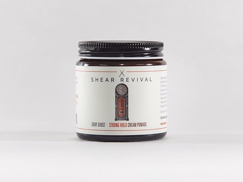 Shear Revival - Gray Ghost Strong Hold Cream Pomade
