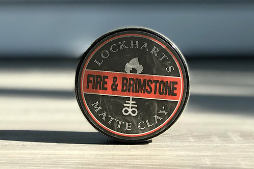 Lockhart's Matte Clay Fire & Brimstone | 髮泥