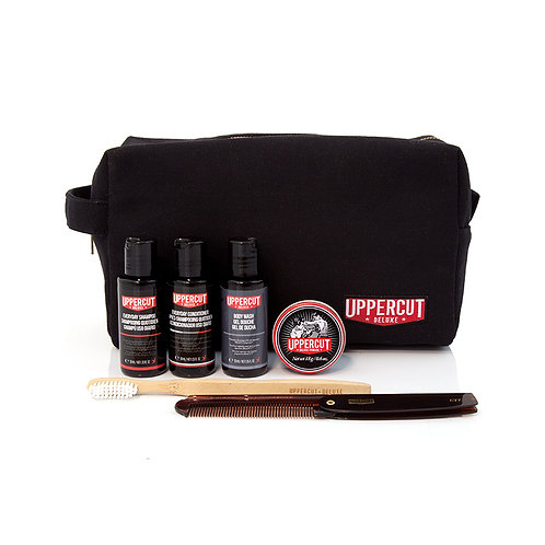 Uppercut - Filled Wash Bag – Black