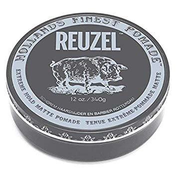 ( 12oz ) Reuzel - Extreme Hold Matte Pomade | 灰豬