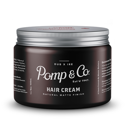 Pomp & Co. Hair Cream ( 16 oz / 500 ml )