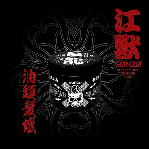 (17oz) Gonzo Super Slick Pomade BIG TUB - 江獸髮蠟 (抗汗抗潮濕)