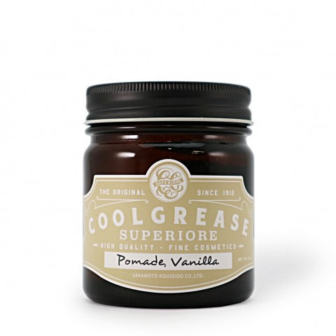 Cool Grease Superior Pomade - Vanilla | 髮油