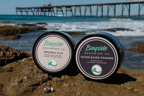 Double Up - Bayside Original Clay & Water Based Pomade