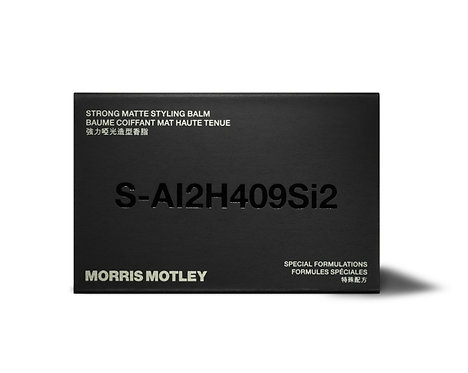 Morris Motley - Strong Matte Styling Balm ( Formally TSB02 ) | 髮泥