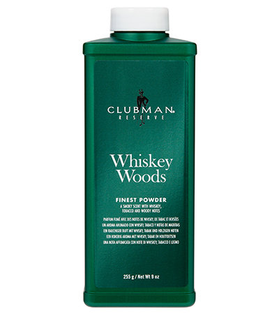 Clubman Whiskey Woods Powder | 爽身粉