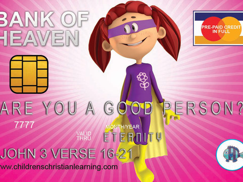 OUR SUPER DUPER! Cool Credit Card Gospel Tracts For FREE - DOWNLOAD AND PRINT