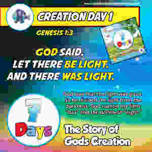 Day 1 - The Story of God's Creation