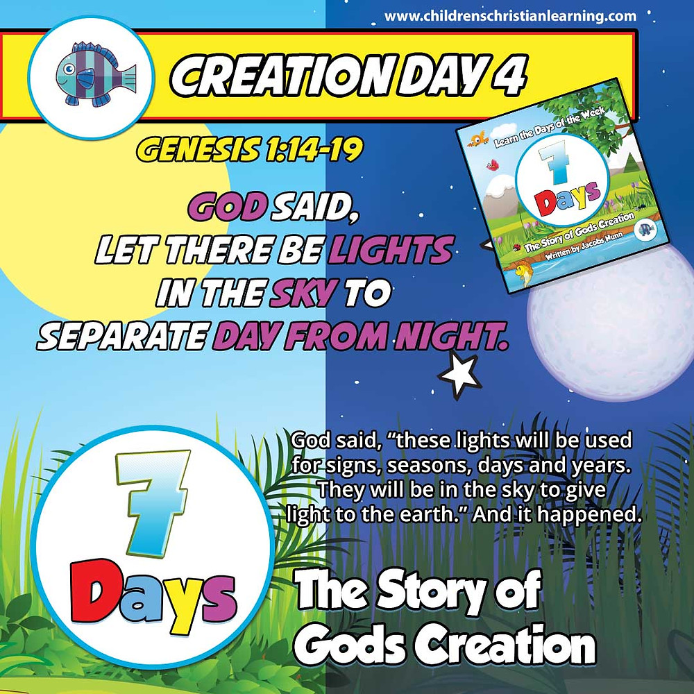Day 3 - The Story of God's Creation