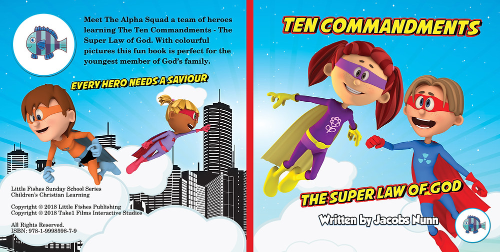 Ten Commandments The Super Law of God Picture Book