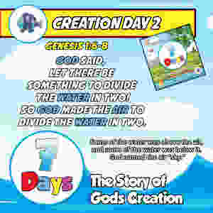 Day 2 - The Story of God's Creation