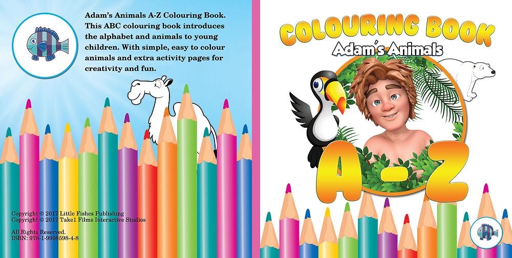 Adam's Animals A-Z Colouring Book