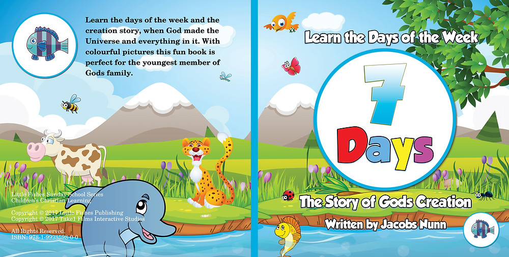 7 Days The Story of Gods Creation Picture Book