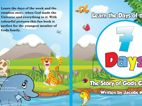 THE CREATION STORY WHEN GOD MADE THE UNIVERSE AND EVERYTHING IN IT 7 Days The Story of Gods Creation