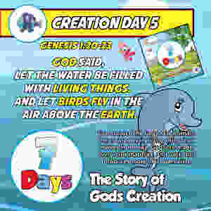 Day 5 - The Story of God's Creation