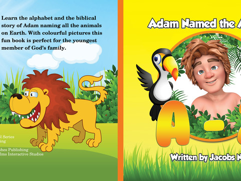 LEARN THE ALPHABET AND THE BIBLICAL STORY OF ADAM NAMING ALL THE ANIMALS  Adam Named the Animals A-Z