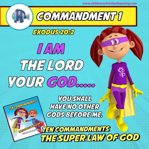 The Ten Commandments - The Super Law of God - Commandment 1 - Family Devotional