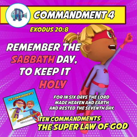 The Ten Commandments - The Super Law of God - Commandment 4 - Family Devotional