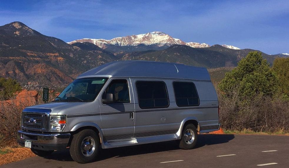 Buggy Tours LLC Pikes Peak Tour Van