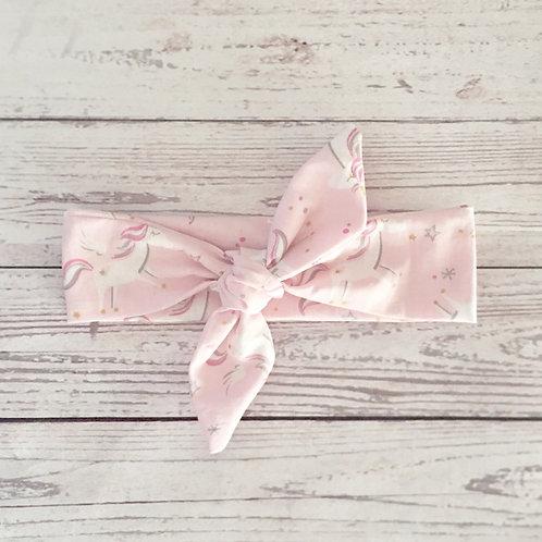 diadema nudo pink unicorn