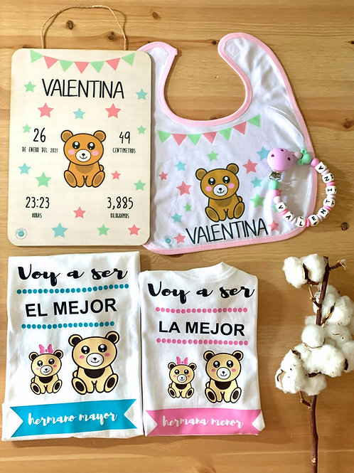 PACK LITTLE BEAR NACIMIENTO CON HERMANO