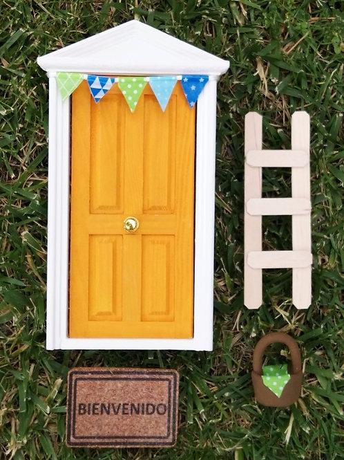 Puerta mandarina