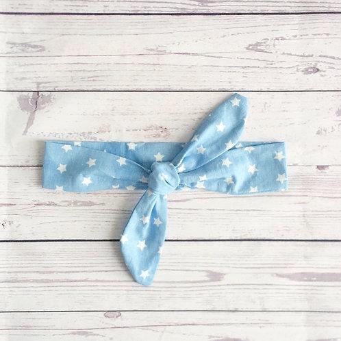 diadema nudo blue star
