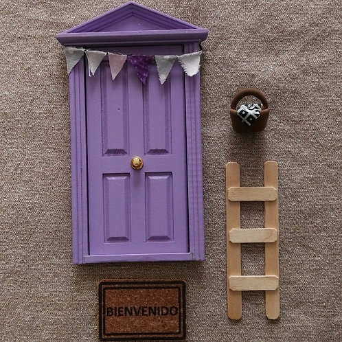 Puerta lila