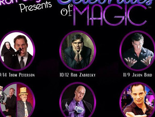 Anthony Hernandez Illusions stars in Celebrities of Magic!