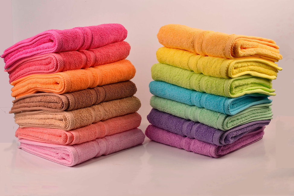 100 %Egyptian cotton towels
