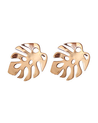 PELE Tropical Leaf Studs