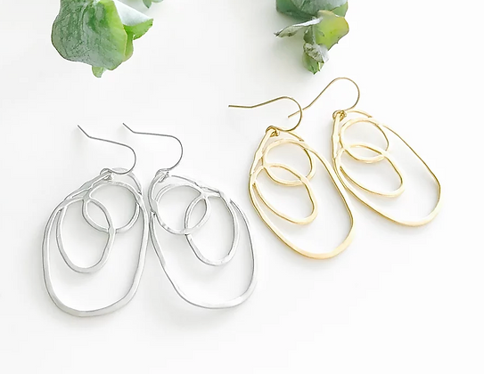 TWIGG Scribble Earrings