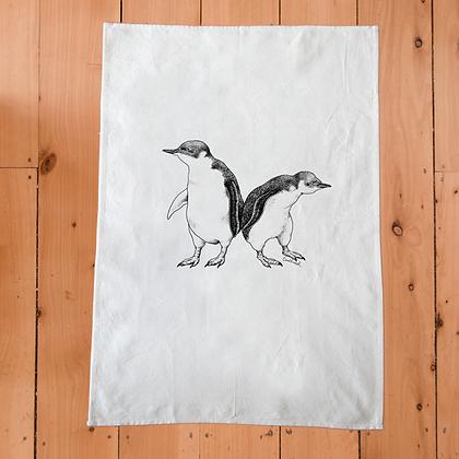 TUMBLEWEED Little Blue Penguin Tea Towel
