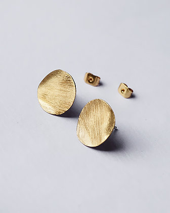 PELE Sea Studs Gold