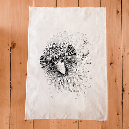 TUMBLEWEED Sirocco the Kakapo Tea Towel