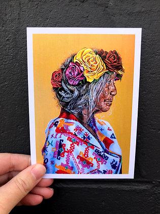 "SIERRA ROBERTS ART ""Sayulita"" Postcard"