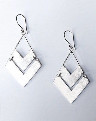 PELE Murex Silver Earrings