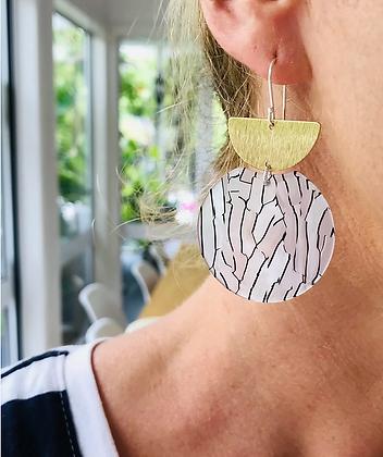 TWIGG Malo Crescent Earrings