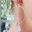 Thumbnail: TWIGG Rose Quartz Earrings