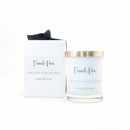 KASBAH French Pear Soy Candle