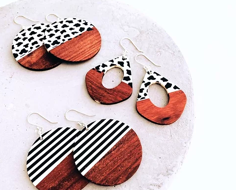 TWIGG Scorched Palet Earrings