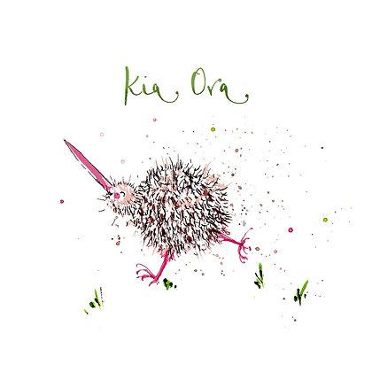 """EMKO """"Kia Ora"""" Card"""