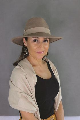 SUNDAISE Rhianna Hat - Taupe