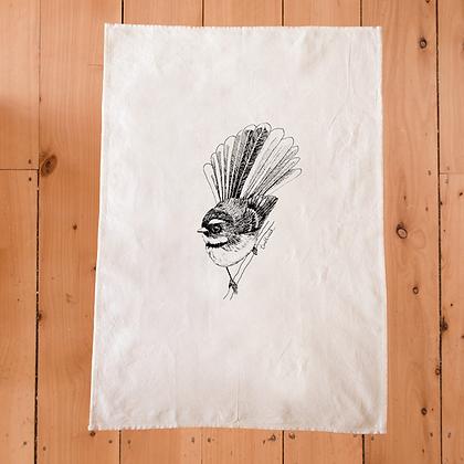 TUMBLEWEED Fantail/Piwakawaka Tea Towel