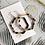 Thumbnail: TWIGG Tortoise Hexagon Earrings